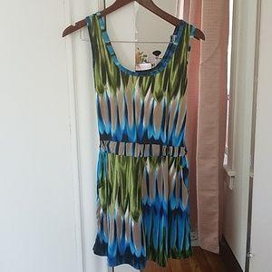 On sale!! Women Jumpsuit. Turquoise, M.